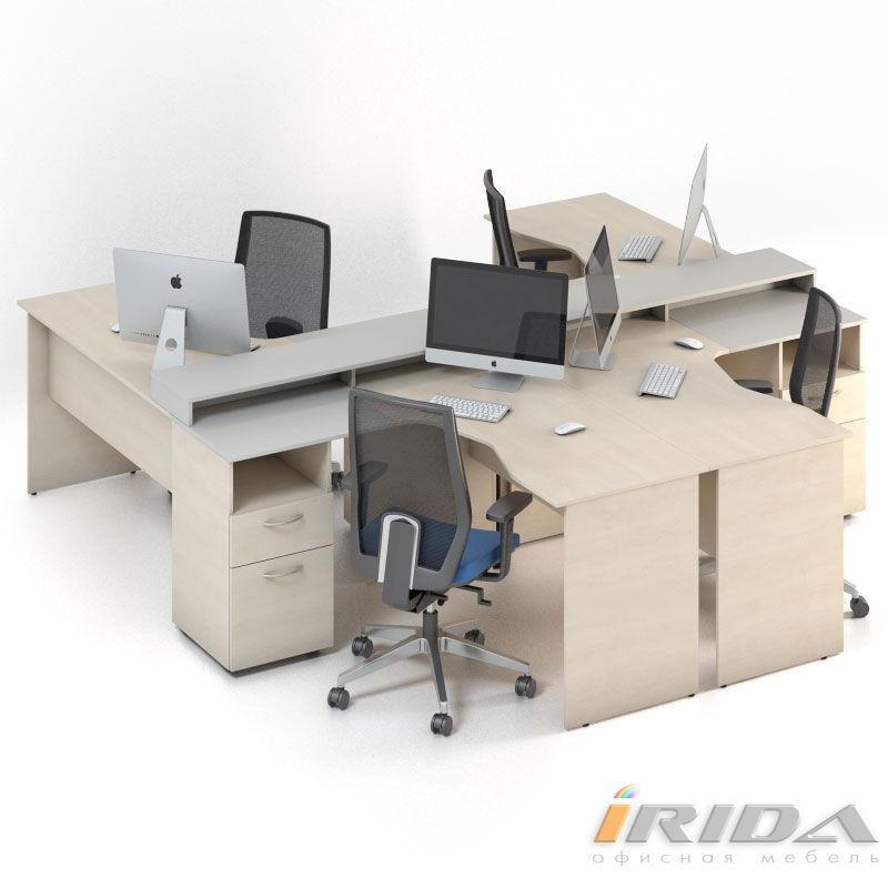 Мебель для персонала Сенс, комплект 6 фото