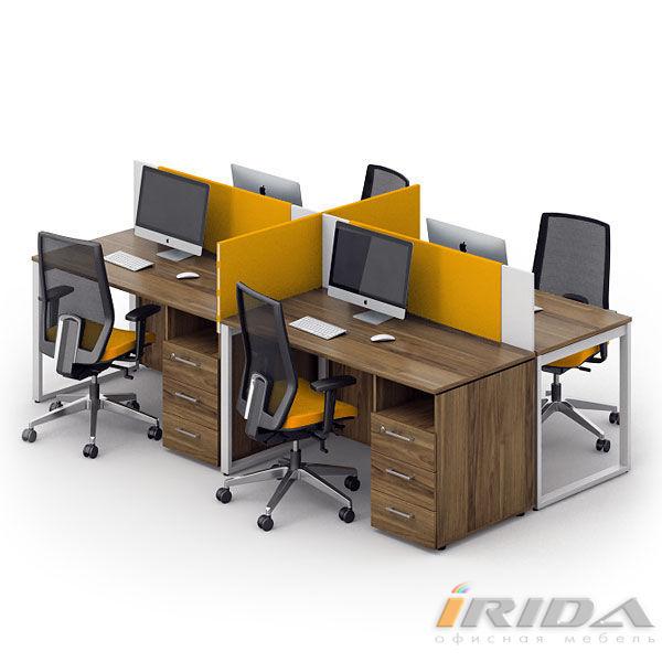 Комплект офисной мебели Джет-16 фото