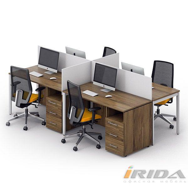 Комплект офисной мебели Джет-15 фото