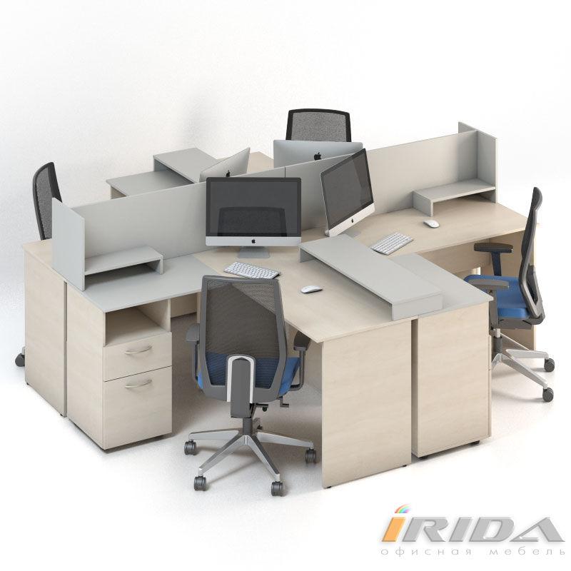 Мебель для персонала Сенс, комплект 7 фото
