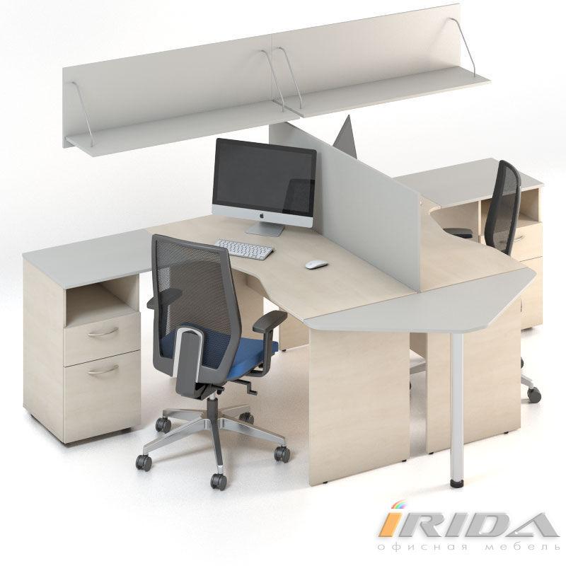 Мебель для персонала Сенс, комплект 3 фото