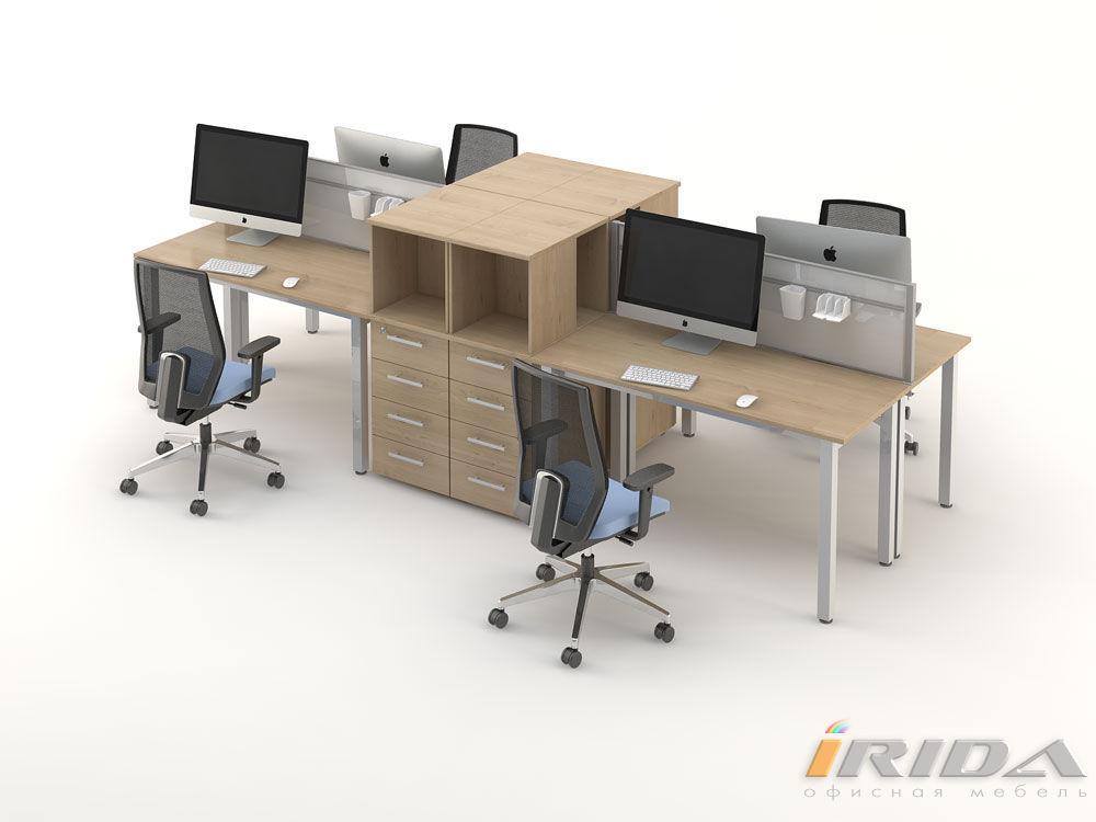 Комплект офисной мебели Озон 8 фото