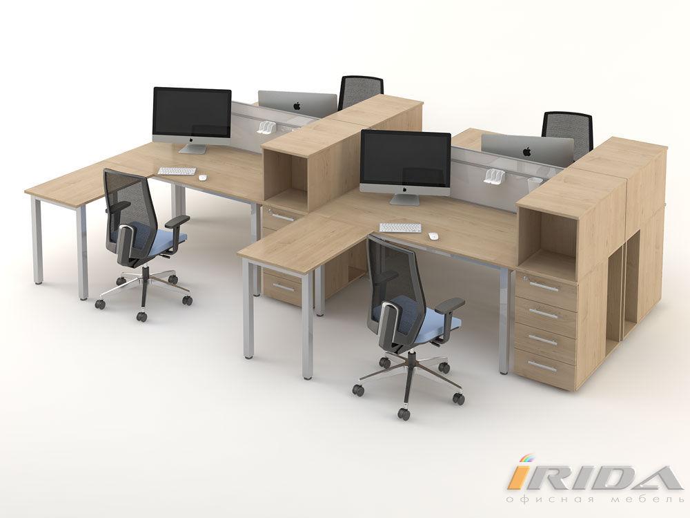 Комплект офисной мебели Озон 7 фото
