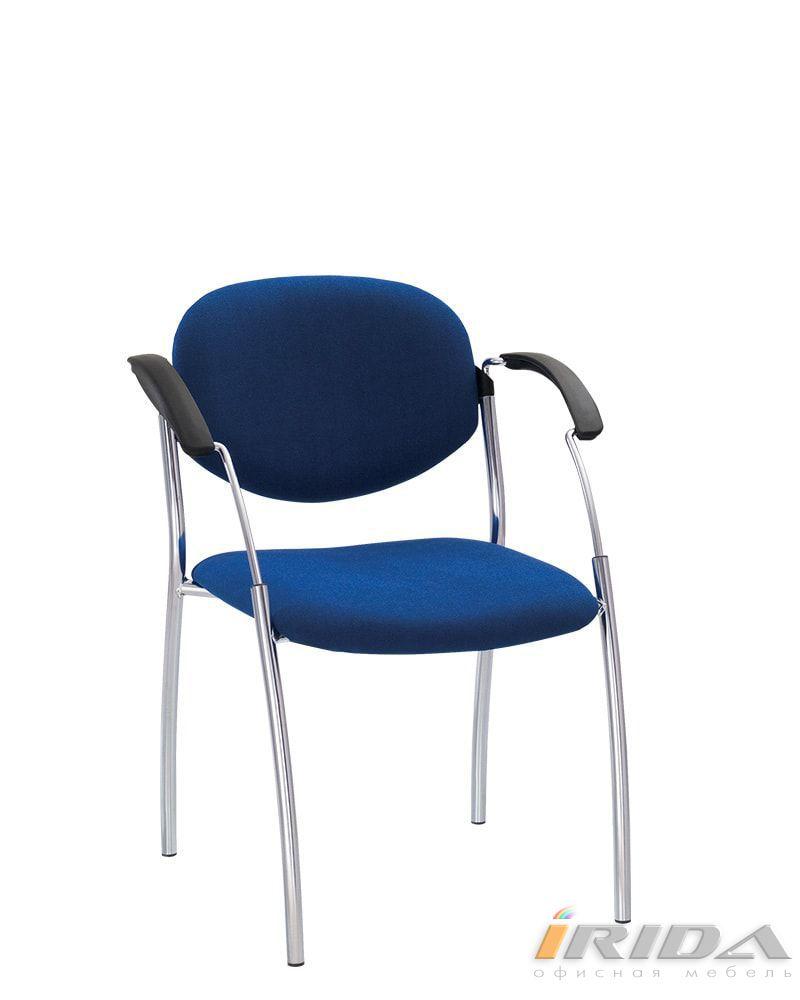 Офисный стул Сплит хром фото