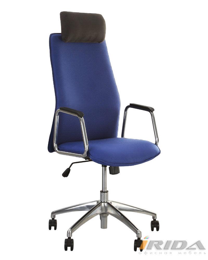Кресло Соло HR хром ЭКО  фото