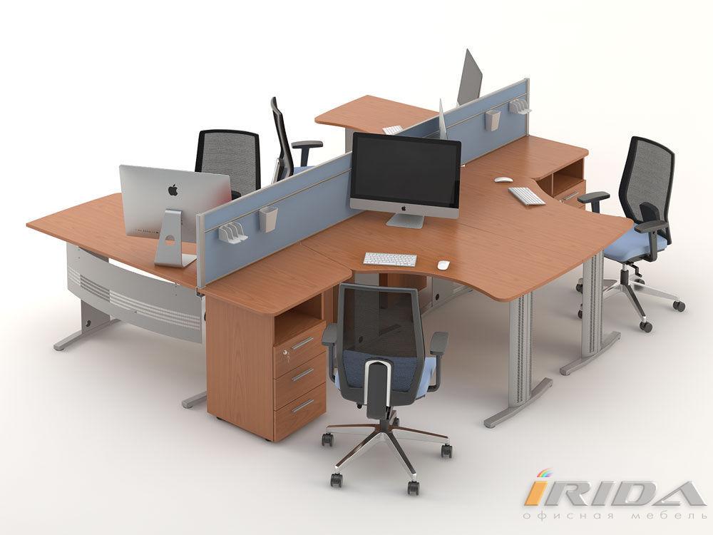 Комплект офисной мебели Техно-6 фото