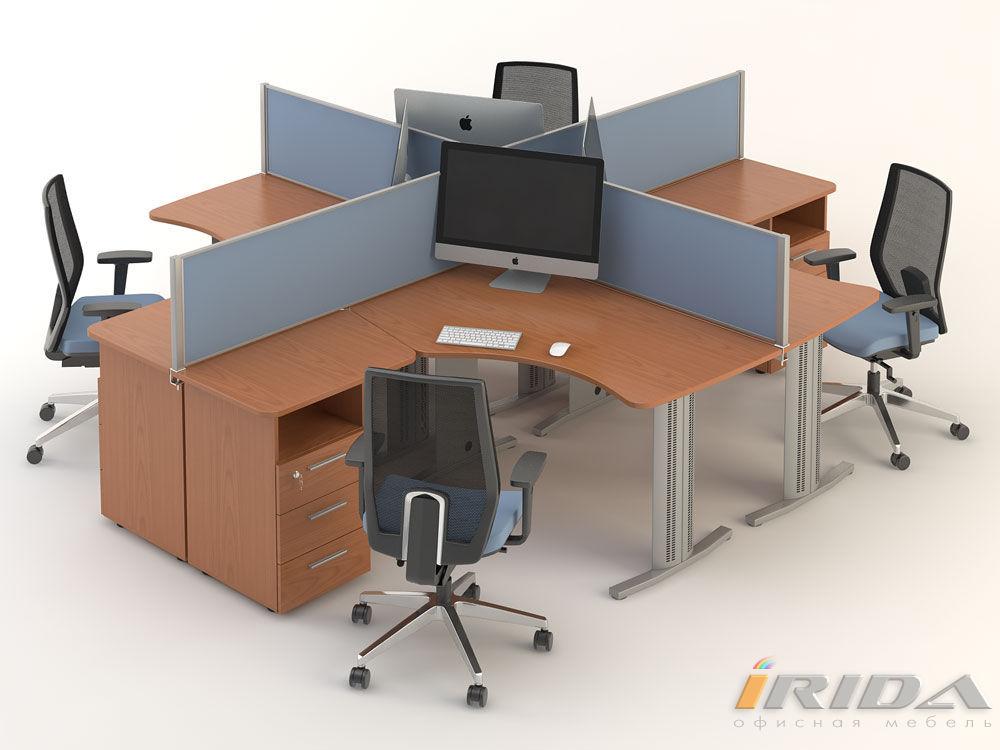 Комплект офисной мебели Техно-4 фото
