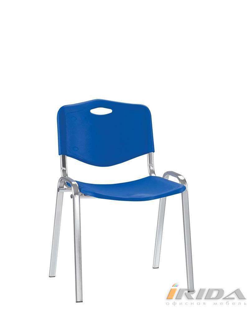 Офисный стул Исо пласт хром фото