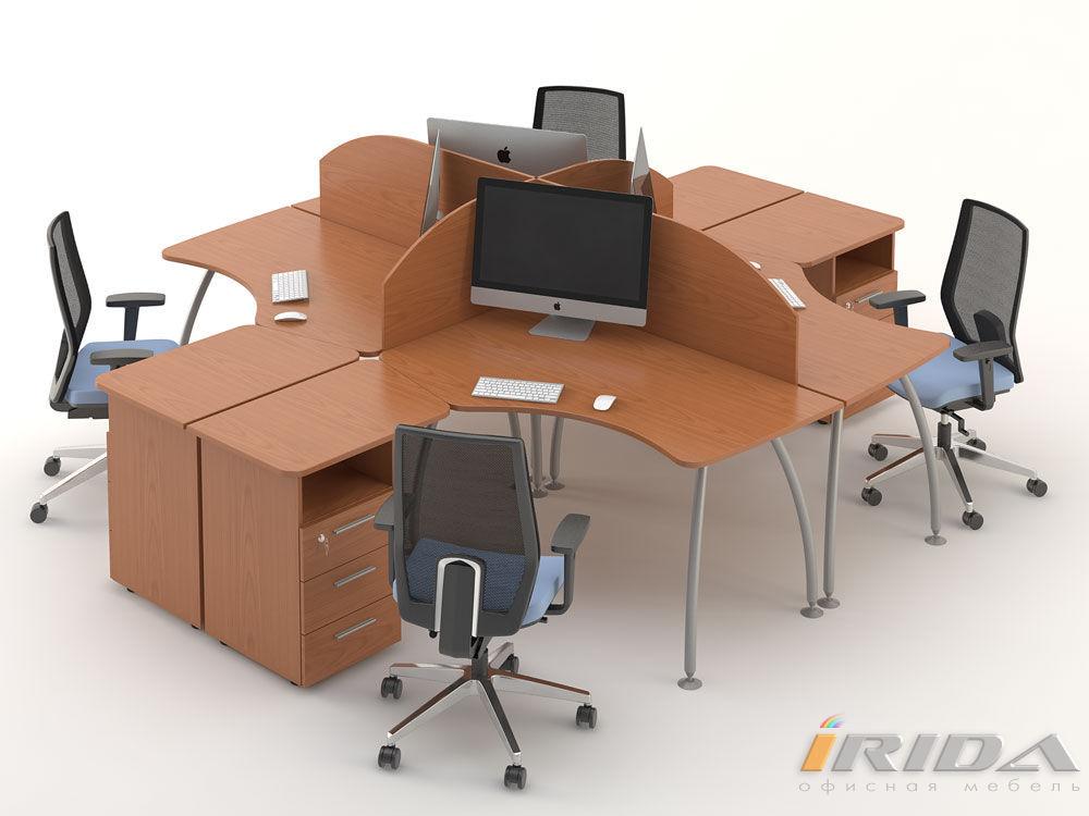 Комплект офисной мебели Техно-3 фото