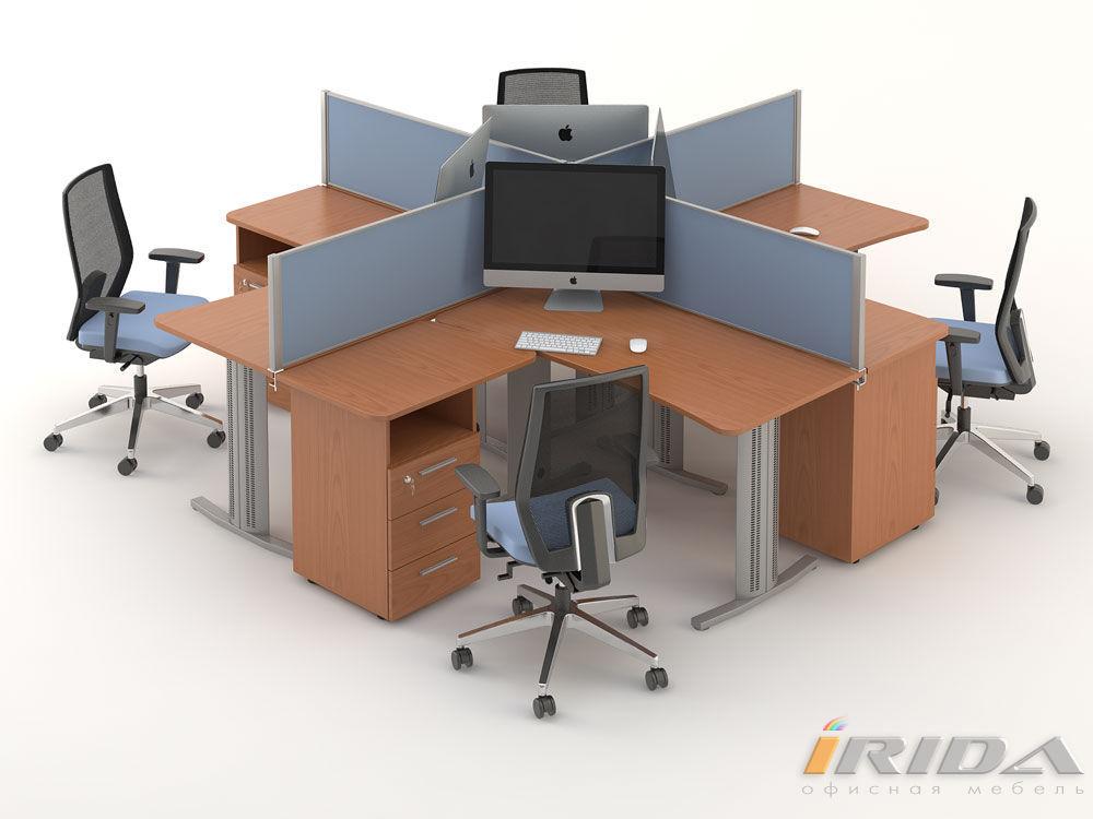Комплект офисной мебели Техно-10 фото