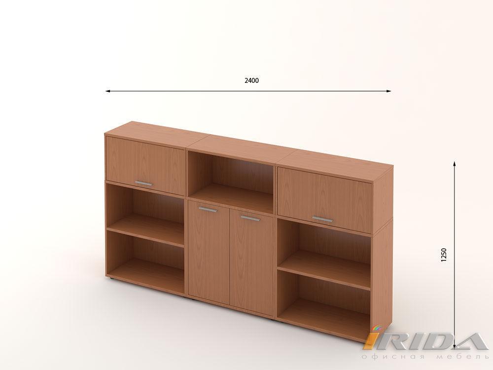 Комплект офисной мебели Техно-13 фото
