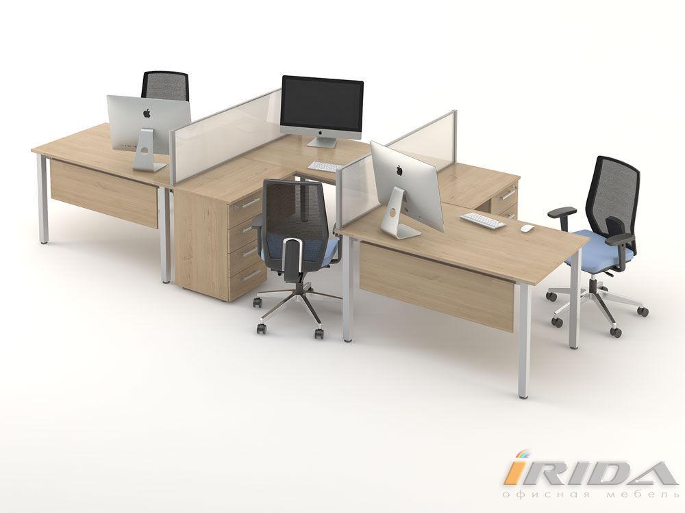 Комплект офисной мебели Озон 3 фото
