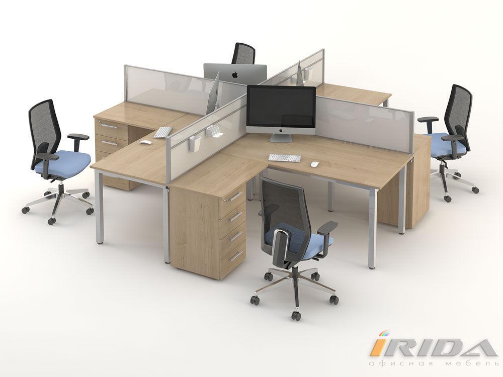 Комплект офисной мебели Озон 5 фото