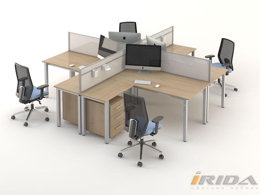 Комплект офисной мебели Озон 4 фото